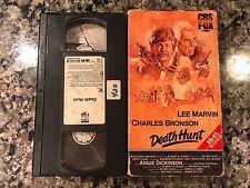 Death Hunt Vhs! 1981 Thriller! Death Wish 3 The Evil That Men Do The Mechanic