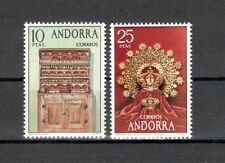 span.Andorra Michelnummer 90 - 91  postfrisch (intern:Land)