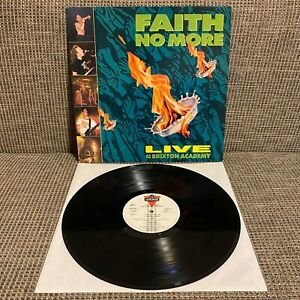Faith No More - Live at the Brixton Academy, London, 828 238-1, Vinyl LP, 1991