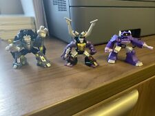 Hasbro Transformers Robot Heroes Lot Of 3