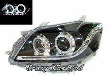 Camry 2006-2009 CCFL Angel-Eye Projector LED R8 HEADLIGHT Black For TOYOTA
