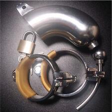 Fetish Bondage Male Chastity Belt Chastity Device CBT Urethral Tube ZC063