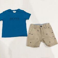 Boys Hugo Boss Shorts And Tshirt Size 2