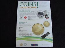 Coin Catalog ~ Canada Post ~ Convex Coin 2017 Zodiac Series w/ Swarovski crystal