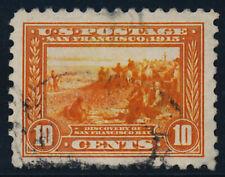 U. S. Scott #404 with P.S.A.G. Certificate: Grade 95J (Used)
