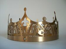 French Gothic Revival Style Pierced Metal Crown - Europe - Late 20th Century