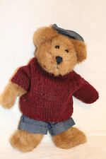 "Boyds Bears Knitted Sweater 10"" Plush 1998 #231"