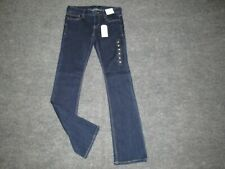 NEW WOMENS EXPRESS LOW RISE BARELY BOOT CUT JEANS sz 2R nwt 2 REGULAR