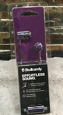NIP factory sealed SkullCandy JIB Earbud with Mic, Purple/Blk  FREE SHIPPING