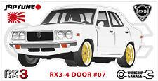 Mazda Rotary RX3 - 4 DOOR Sticker - #07