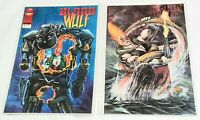 BLOOD WULF issue #s 2 & 3 Liefeld Image Comics 1995 Excellent unread NR
