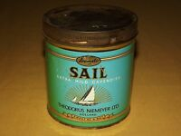 VINTAGE PIPE SAIL SAIL BOAT HOLLAND   SMOKING  TOBACCO TIN CAN