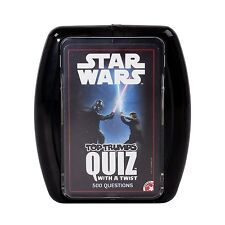 Winning Moves Star Wars Quiz Top Trumps Game - 500 questions  NEW