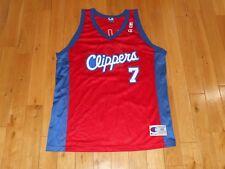 Vintage 90s Champion LAMAR ODOM LOS ANGELES CLIPPERS Mens NBA Team JERSEY 48  XL 9423922c5