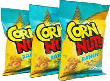 Corn Nuts Ranch - Bold Ranch Roasted Corn Kernels - 3-Bag Snack Pack