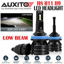 AUXITO H11 H8 H9 LED Headlight Light Bulb High Low Beam For Subaru Impreza M2 EA