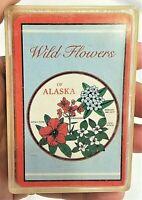 Wild Flowers ALASKA AK STATE PLAYING CARDS Souvenir Hong Kong Game