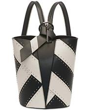 80f2b471e48 Calvin Klein Karsyn Leather Studded Convertible Hobo Backpack Msrp:$248