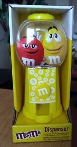 M&M SWEET DISPENSER [ YELLOW ]