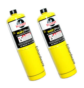 MAP/PRO GAS CYLINDER 400G PORTABLE REPLACEMENT GAS CYLINDER
