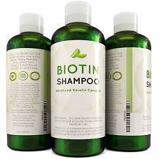 Hair Loss Shampoo for Men and Women - DHT Blocker - Biotin for Hair Growth and -