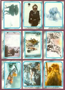1977 1980 O PEE CHEE Star Wars Empire Strikes Back Card 78 TO 281 SEE LIST
