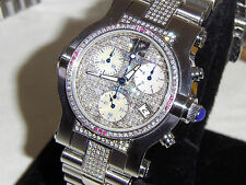 RENATO VS CLARITY G COLOR DIAMONDS + ONE OF A KIND WOW WITH RUBIES