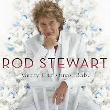 Rod Stewart Merry Christmas, Baby CD NEW 2012 Santa Claus Is Coming To Town+