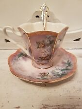 Bradford Exchange Lena Liu's Wings of enchantment teacup and saucer plus spoon