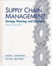Supply Chain Management (4th Edition), Sunil Chopra, Peter Meindl, Good Book