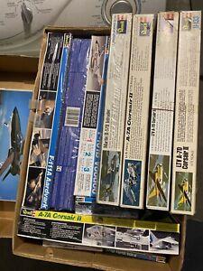 17 Vtg. Revell  1/72 Jet Plane Kits