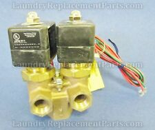 Valve,Duo,Inlet 1/2,Outlet 3/4,220V,50/60Hz 96P016A71 For Milnor Part# 96P016A71