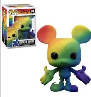 *Read Preorder June/July Funko Pop!* Mickey Mouse Pride Rainbow Figure PREORDER