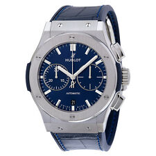 Hublot Classic Fusion  Automatic Blue Sunray Dial TitaniumMens Watch