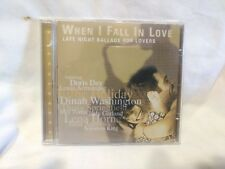 When I Fall In Love Late Night Ballads For Lovers Import 1998 Prism       cd6878