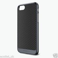 Cygnett UrbanShield - Carbon Fiber Case for iPhone 7 - Gunmetal BRAND NEW Cover