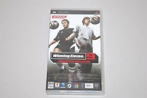 Winning Eleven 9 UBIQUITOUS EVOLUTION Japan Sony PSP game