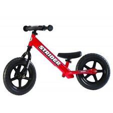 STRIDER Balance Bike 12 Sport Kids No Pedal Learn To Ride Bicycle Red