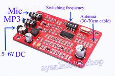 5V~12v Digital Radio Station PLL Stereo BH1417 MP3 FM Dual Transmitter module