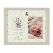 Almohadilla de tinta de impresión de mano de Bebé Foto Marco casting Kit Recuerdo Bebés Regalo Bautizo