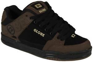 Globe Tilt Shoe - Black / Brown - New