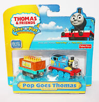 NEW Fisher Price Thomas & Friends Take N Play Portable Railway Pop Goes Thomas🚂