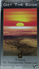 Anthony Robbins, Get The Edge 7 Days To Transform Your Life VHS New Sealed
