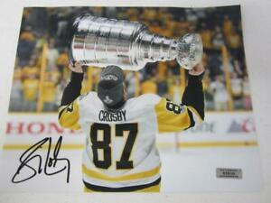 Sidney Crosby Pittsburgh Penguins signed autographed 8x10 Photo