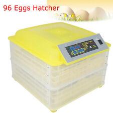 96 Digital Egg Incubator Hatcher Temperature Control Automatic Turning Good
