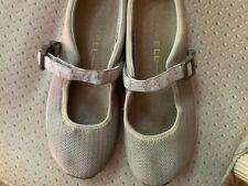 Merrell Encore Mary Jane Mocs Beige Mesh Loafers Shoes Womens Sz 10