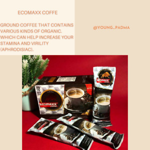 Ecomaxx Coffee Ground Coffee for Stamina and Virility (Aphrodisiac) Organic @10