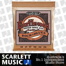 Ernie Ball 2151 Acoustic Guitar Strings Earthwood Phosphor Bronze 10-52