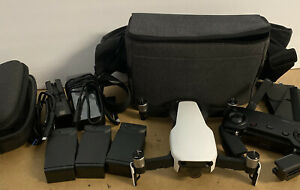DJI Mavic Air Quadcopter - White  - Fly More Combo *excellent condition*