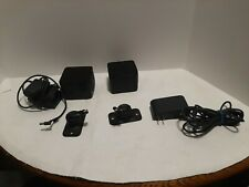 2 vive HTC Vive Base Stations  Black - 99HAFS002-00 with cords and mount